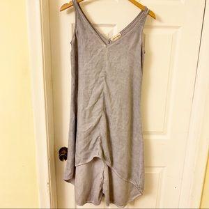 Anthropologie Cloth & Stone   Chambray Tank Dress